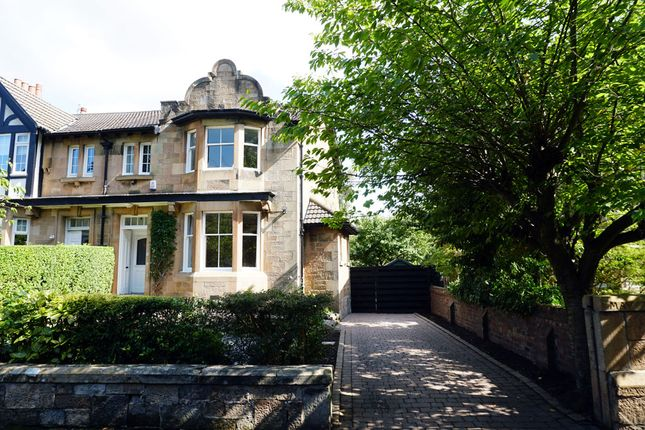 Thumbnail End terrace house for sale in May Terrace, Giffnock, Glasgow