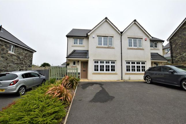 Thumbnail Semi-detached house for sale in Kevill Road, Pool, Redruth, Cornwall