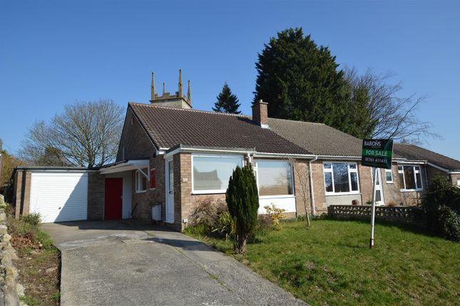 Thumbnail Semi-detached bungalow for sale in Southlands Drive, Timsbury, Bath