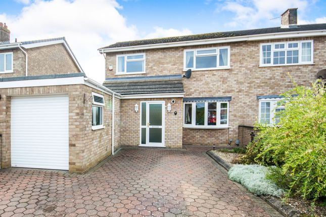 Thumbnail Semi-detached house for sale in Prince Andrews Close, Hellesdon, Norwich