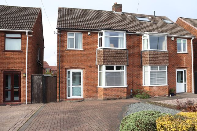 Thumbnail Semi-detached house for sale in Redditch Road, Kings Norton, Birmingham