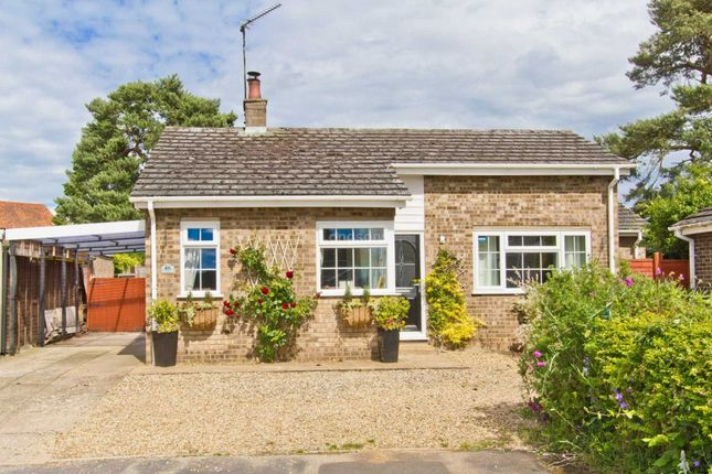 Thumbnail Detached bungalow for sale in Old Vicarage Park, Narborough, King's Lynn
