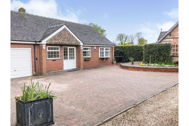 3 bed detached bungalow for sale in The Butts, Betley CW3