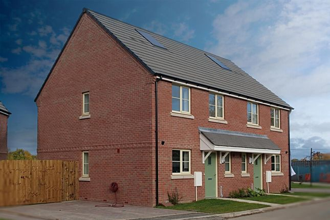 Thumbnail Semi-detached house for sale in The Chaffinch, Heyford Meadow, Hankelow