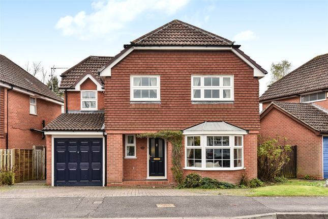 Thumbnail Detached house for sale in Constable Way, College Town, Sandhurst, Berkshire