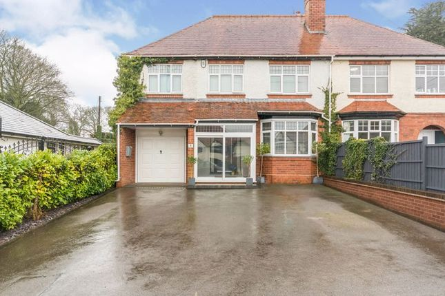 Thumbnail Semi-detached house for sale in Alvechurch Highway, Bromsgrove