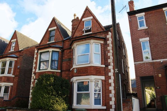 Thumbnail Terraced house to rent in Portland Road, Arboretum, Nottingham