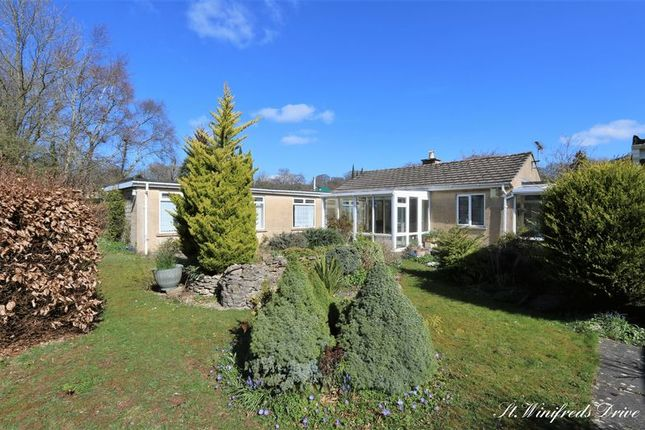Thumbnail Bungalow for sale in St. Winifred's Drive, Combe Down, Bath