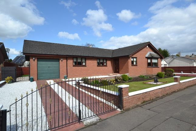 Thumbnail Detached bungalow for sale in Station Road, Muirhead
