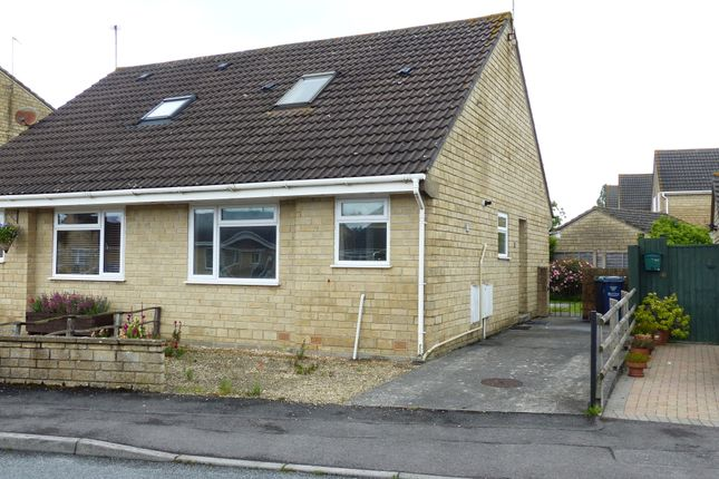 Thumbnail Semi-detached house to rent in Broadacres, Gillingham