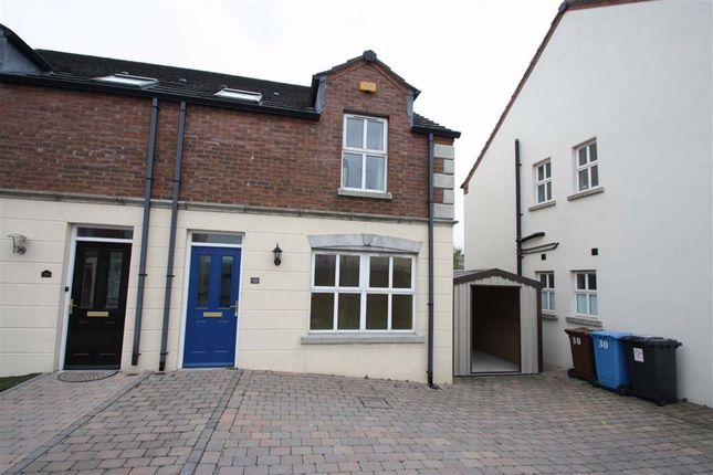 Thumbnail Semi-detached house to rent in Riverview Heights, Ballynahinch, Down