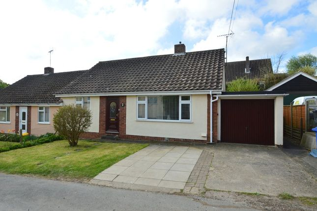 Thumbnail Semi-detached bungalow for sale in Clare, Sudbury, Suffolk