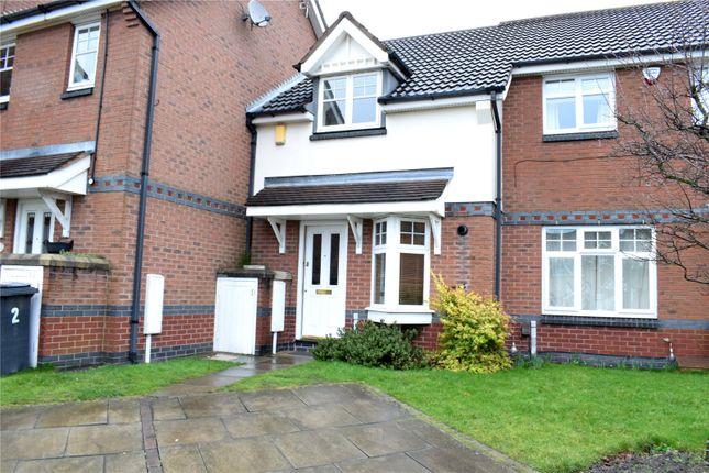 Thumbnail Terraced house to rent in Broughton Close, Shipley View, Ilkeston, Derbyshire