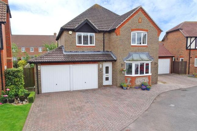 Thumbnail Detached house for sale in The Dell, Angmering, West Sussex