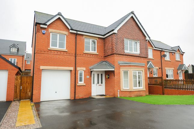 Thumbnail Detached house for sale in Rugby Drive, Chesterfield