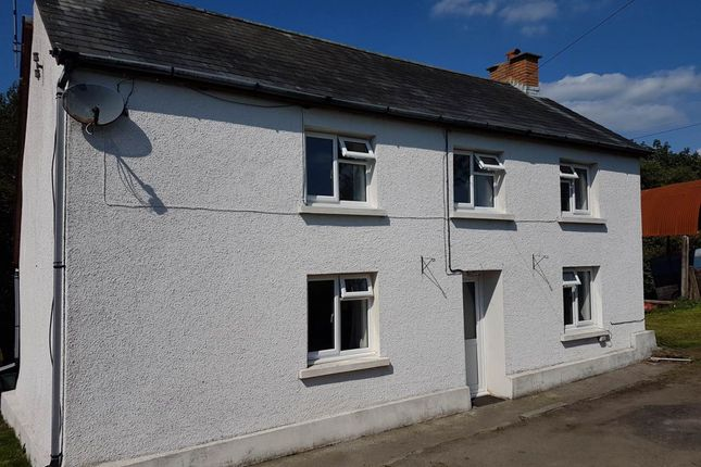 Thumbnail Detached house to rent in Beilibedw, Drefach, Llanybydder