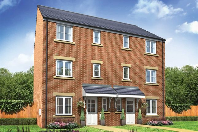 """Thumbnail Town house for sale in """"The Wolvesey"""" at Neath Road, Landore, Swansea"""