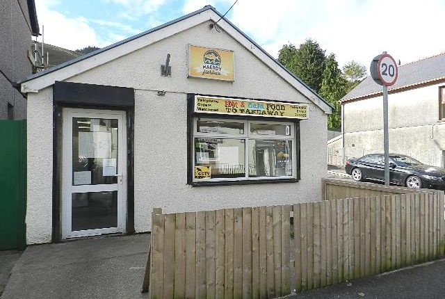 Thumbnail Restaurant/cafe for sale in Richards Terrace, Maerdy