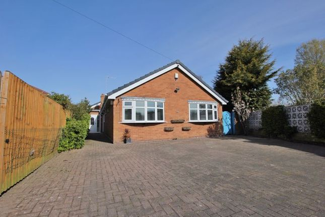 Thumbnail Detached bungalow for sale in Brookhurst Close, Bromborough, Wirral