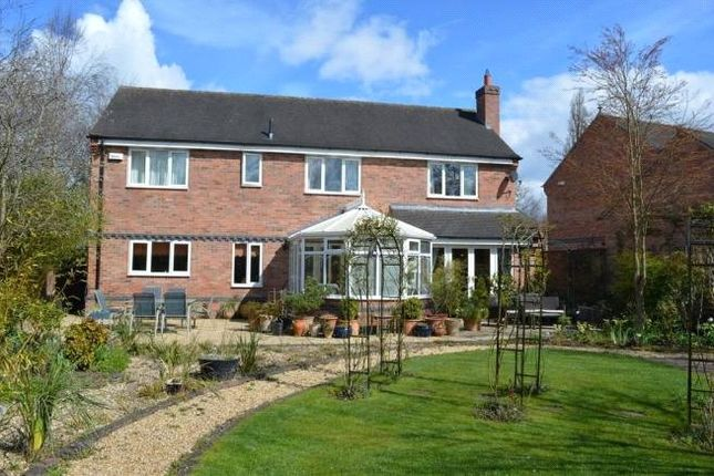 Thumbnail Detached house for sale in The Crescent, Rothley, Leicester, Leicestershire