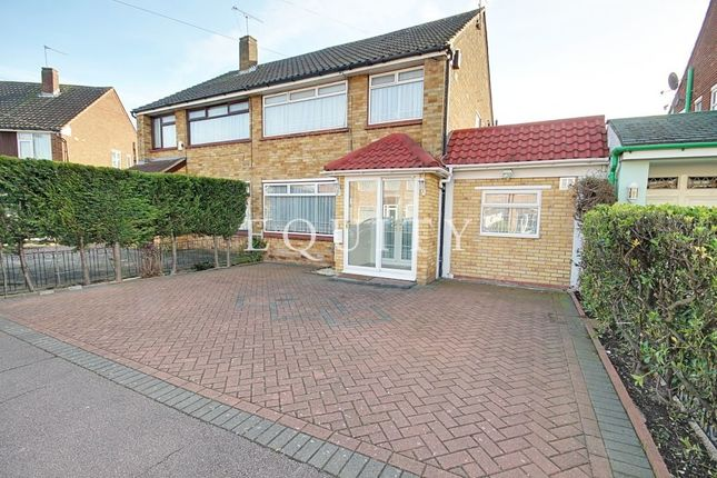 Thumbnail Semi-detached house for sale in Avondale Crescent, Enfield
