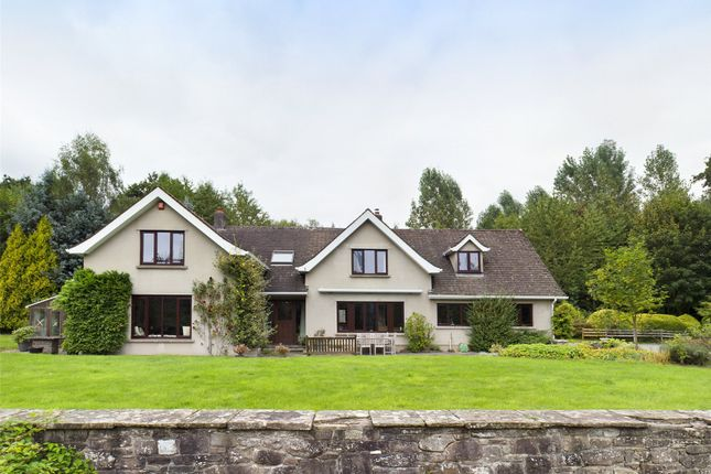 Thumbnail Detached house for sale in Glangrwyney, Crickhowell, Powys