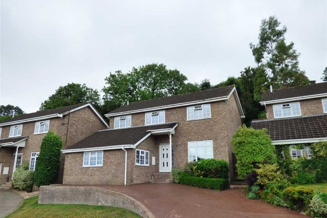 Thumbnail Detached house for sale in Huntfield Road, Chepstow
