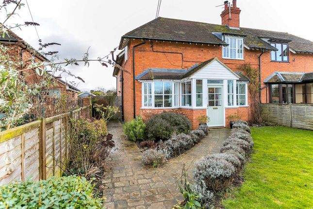 Thumbnail Semi-detached house for sale in Church Lane, Lathbury, Newport Pagnell