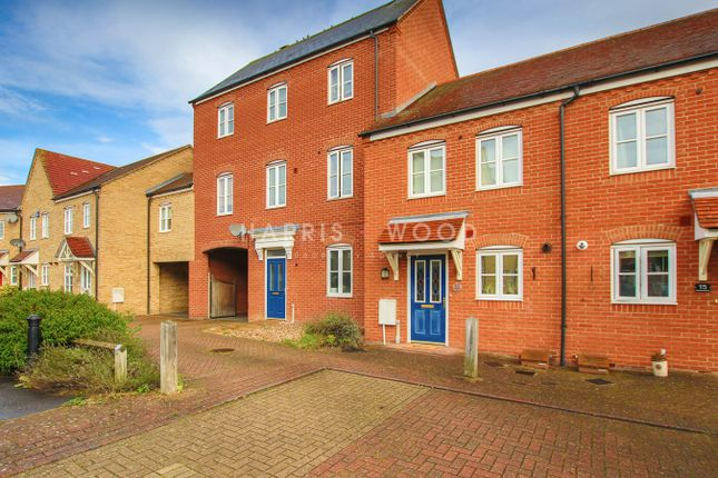 Thumbnail Terraced house for sale in Freeman Close, Colchester