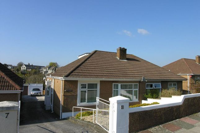 Thumbnail Bungalow to rent in Grainge Road, Plymouth, Devon