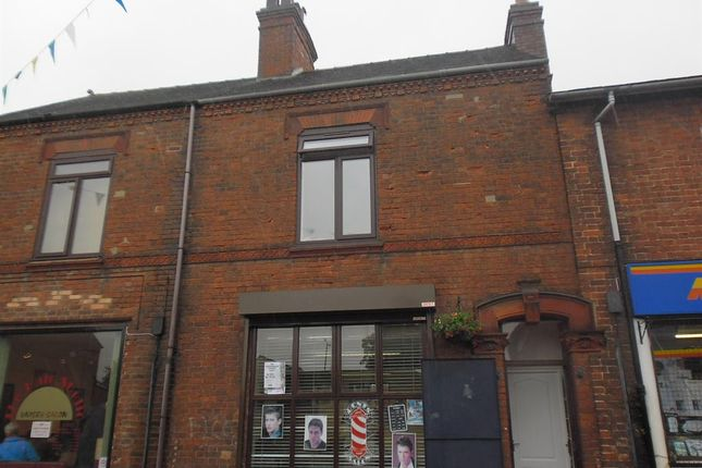 1 bed flat to rent in Albion Street, Rugeley, Staffordshire WS15