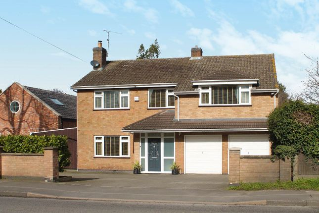 Thumbnail Detached house for sale in Enderby Road, Blaby, Leicester