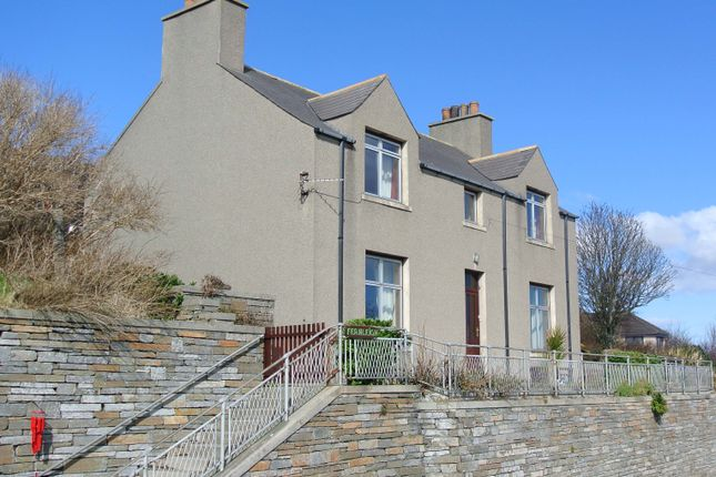 Thumbnail Detached house for sale in Fernleigh, Back Road, Stromness, Orkney