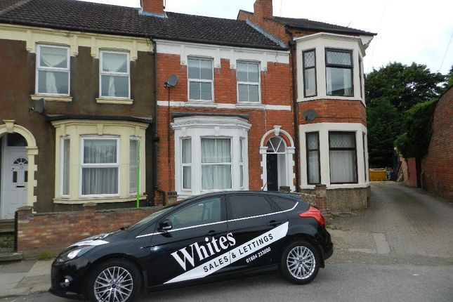 Thumbnail Terraced house to rent in Cecil Road, Northampton