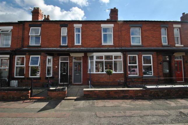 Thumbnail Terraced house to rent in Warburton Street, Stockton Heath, Warrington