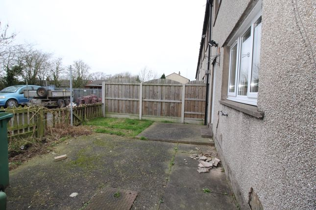 Rear Garden of Mill Road, Glasson, Wigton, Cumbria CA7