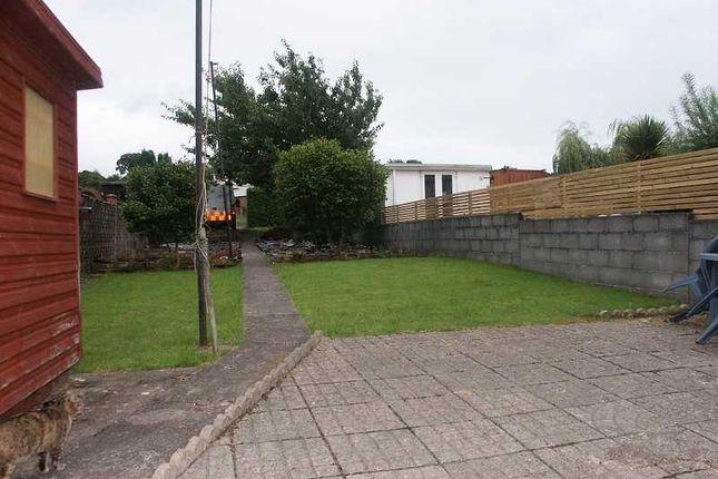 Rear Garden of 18 The Greenway, Llandarcy, Neath. SA10