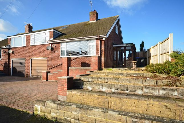 Thumbnail Semi-detached bungalow for sale in Mount Place, Forsbrook
