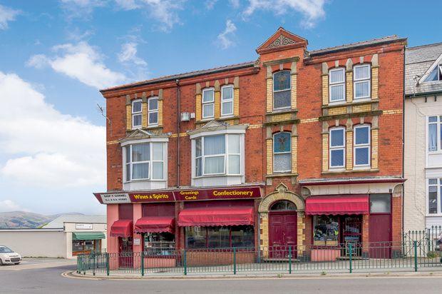 Thumbnail Terraced house for sale in Station Road, Tywyn