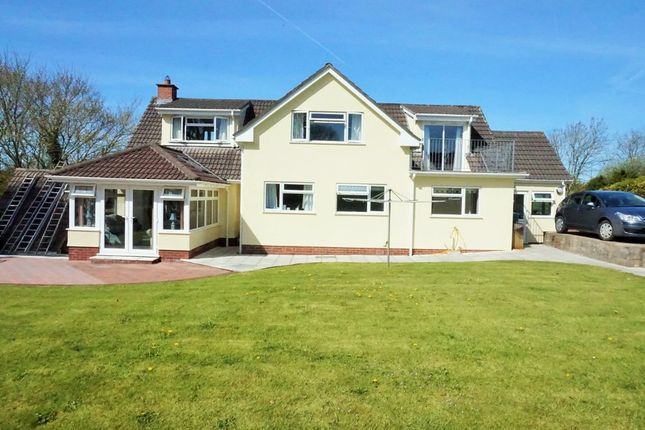 Thumbnail Detached house for sale in Northleigh Hill, Barnstaple