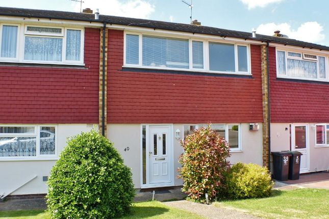 Thumbnail Terraced house to rent in Thornhill, North Weald, Epping