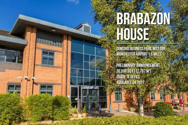 Office to let in Brabazon House, Concord Business Park, Manchester