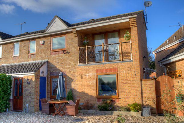 Thumbnail Semi-detached house for sale in Elm Close, Lyneham, Chippenham