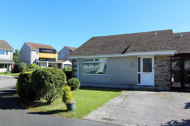 Thumbnail 2 bed bungalow for sale in Fowey Crescent, Callington