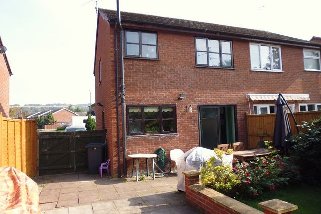 Thumbnail Semi-detached house to rent in Orchard Drive, Minsterley, Shrewsbury