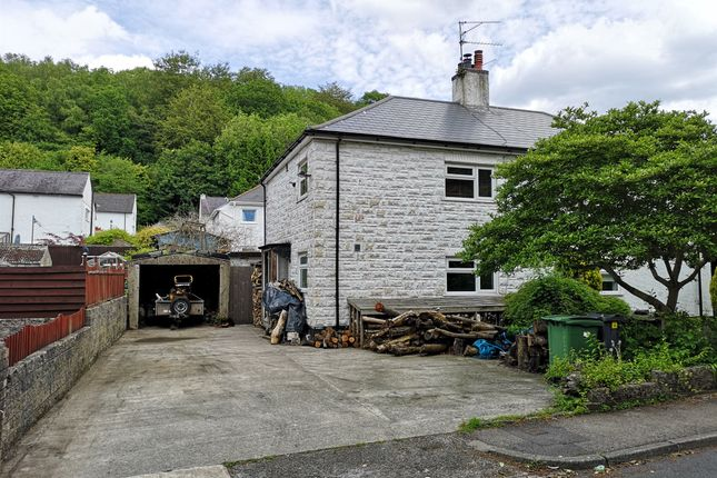 Thumbnail Semi-detached house for sale in Pantgwynlais, Tongwynlais, Cardiff