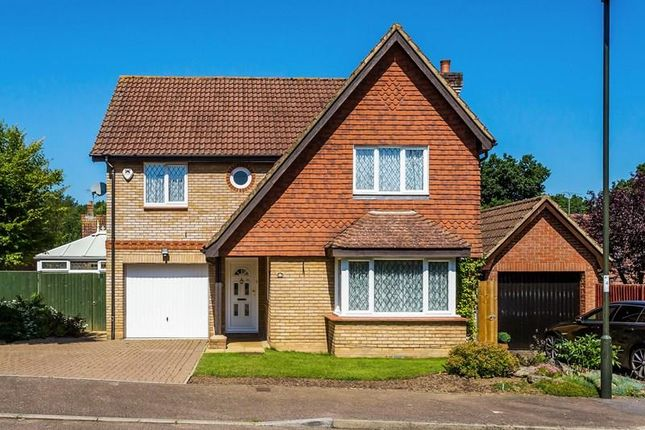 Thumbnail Detached house for sale in Gregory Close, Maidenbower, Crawley