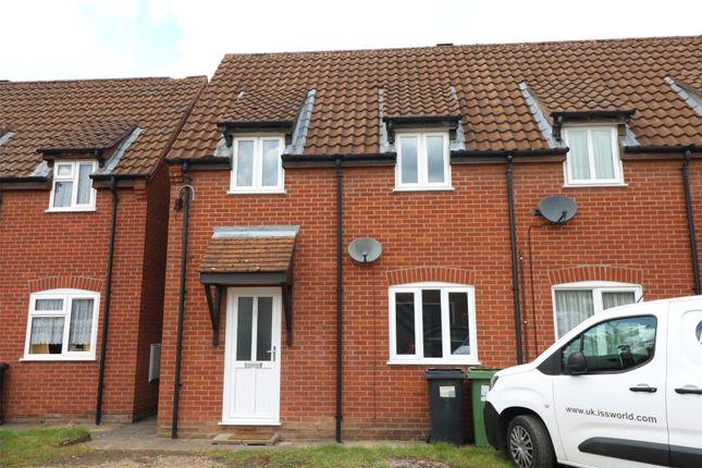 2 bed end terrace house to rent in Fern Court, Wymondham, Norfolk NR18