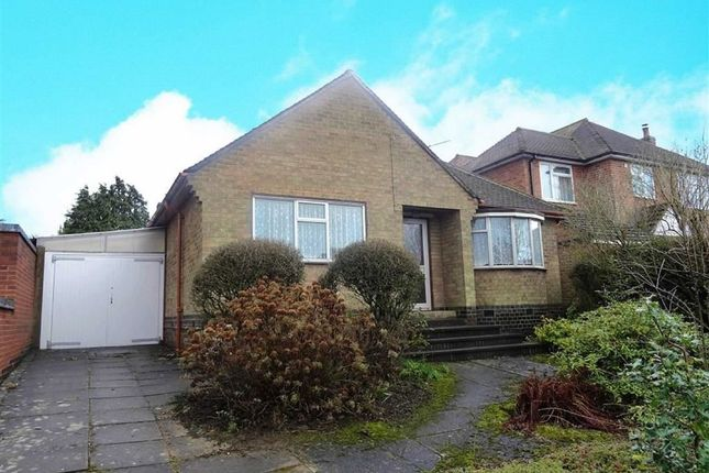 Thumbnail Detached bungalow for sale in Duport Road, Burbage, Hinckley