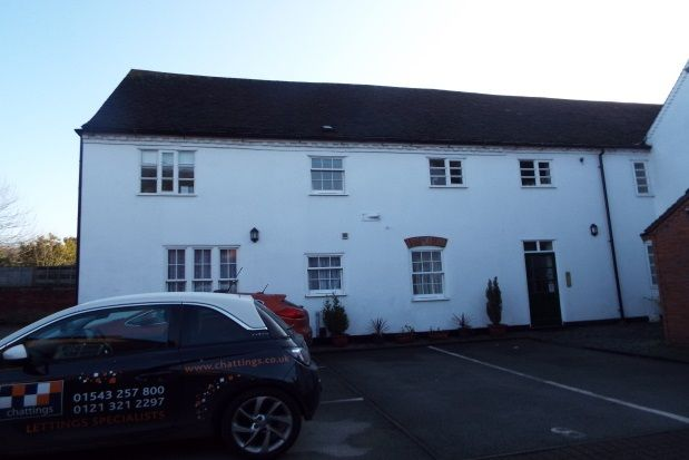 2 bed flat to rent in Brewhouse Court, Lichfield